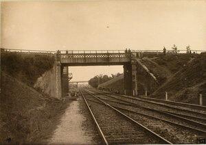 Вид моста и части путепровода вблизи станции на 806-й версте. Гродно ст.