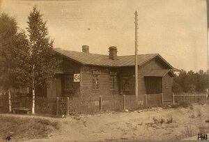 Общий вид здания типовой казармы.