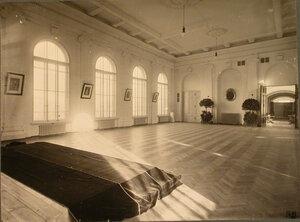 Общий вид зала лазарета.