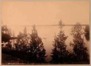 Вид с Левкадской скалы на Сайменский канал.