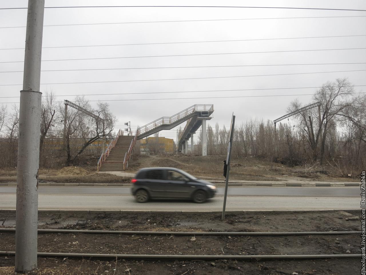 путепровод Пожарный проезд Саратов