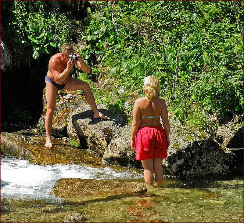 Фотосессия у водопадов