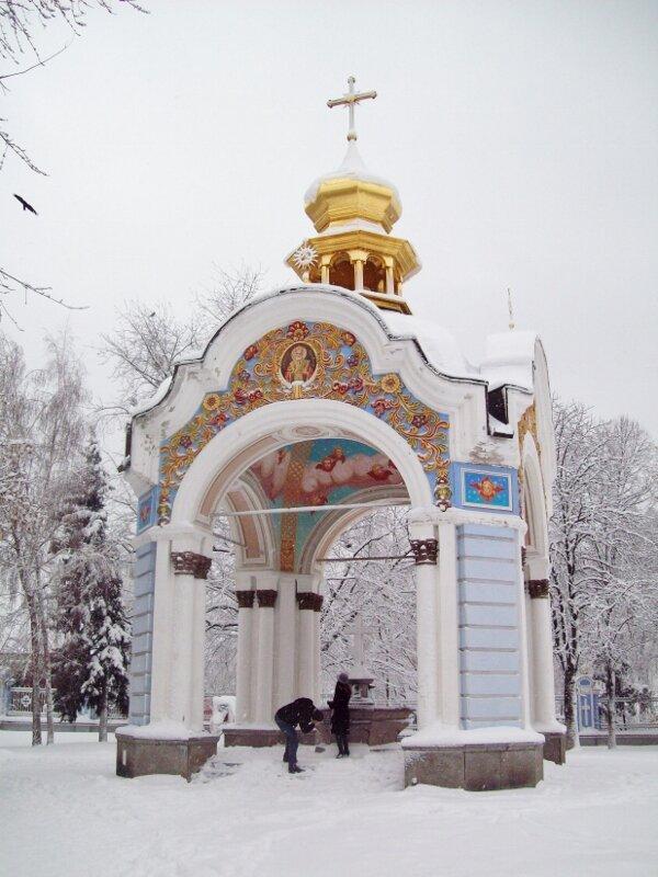 Ротонда Михайловского монастыря