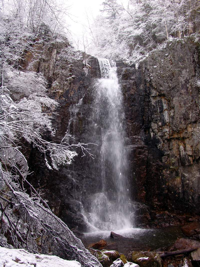 Беневские (Еломовские) водопады