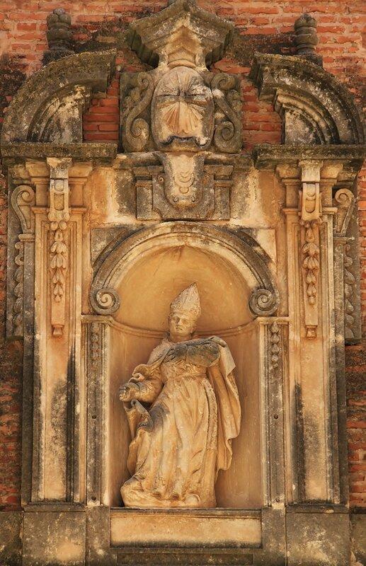 Фрагмент церковного фасада