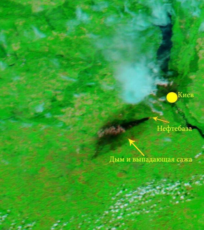 Количество опасных веществ в воздухе Киева превышает предельно допустимые концентрации, - Кличко - Цензор.НЕТ 9064