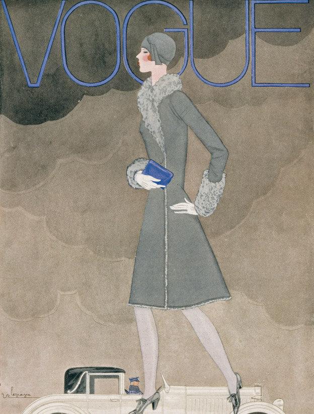 Vogue Magazine cover 1928