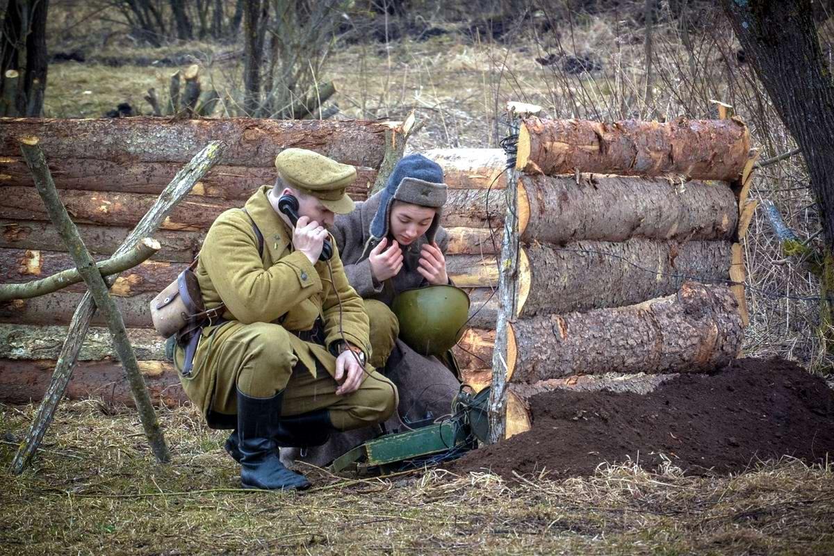 Забавные моменты из жизни военных реконструкторов (96)