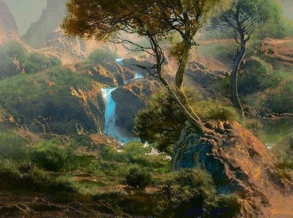 Дейл Тербуш: Пейзажи ощущений