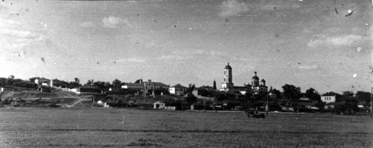 Вид с Крылова луга (юго-запад) на Кирсанов