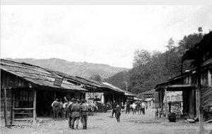 Деревенская улица в Сванетии