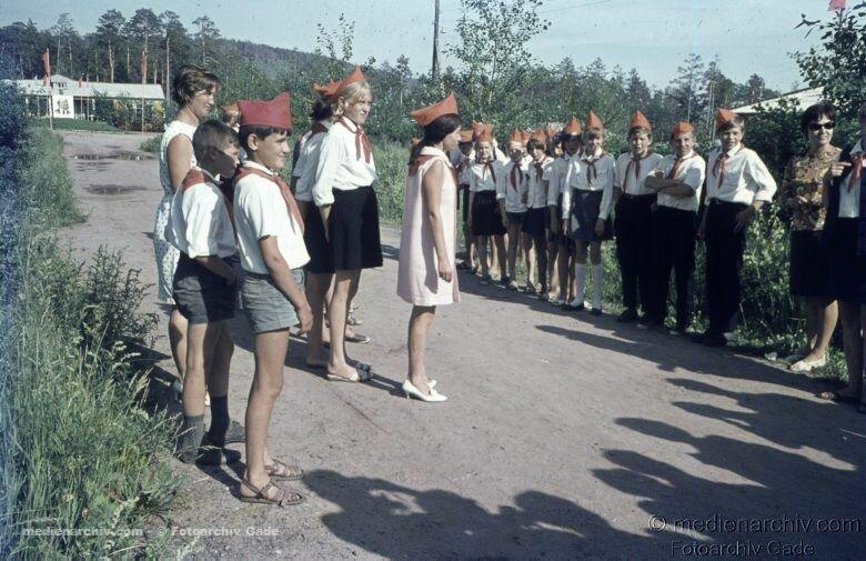 1970. 10. В пионерском лагере