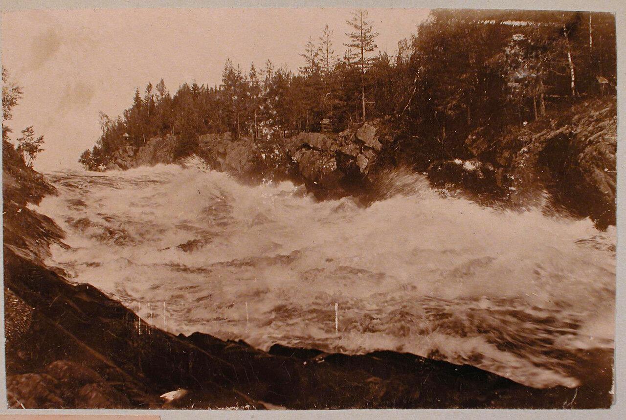30. Вид на водопад Иматра