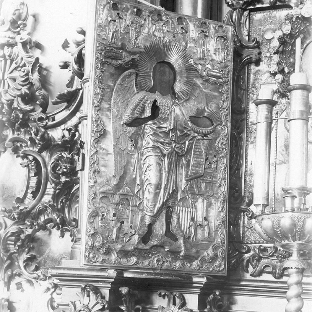 Никольская церковь. Образ святого Иоанна Предтечи