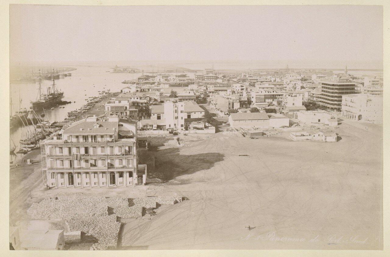 1888. Панорама Порт-Саида (Египет)