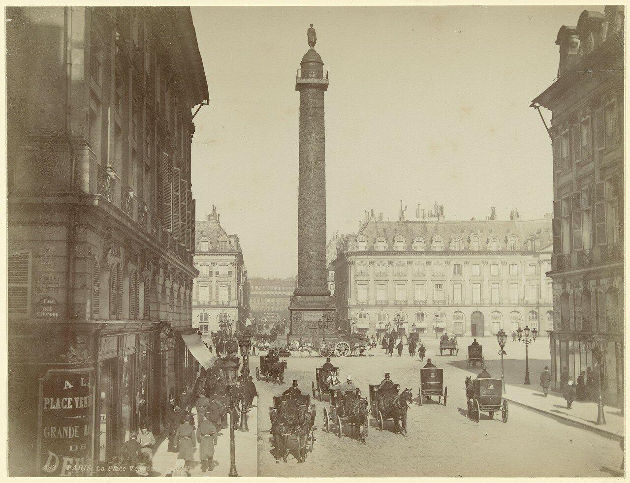 1880-е. Вандомская площадь