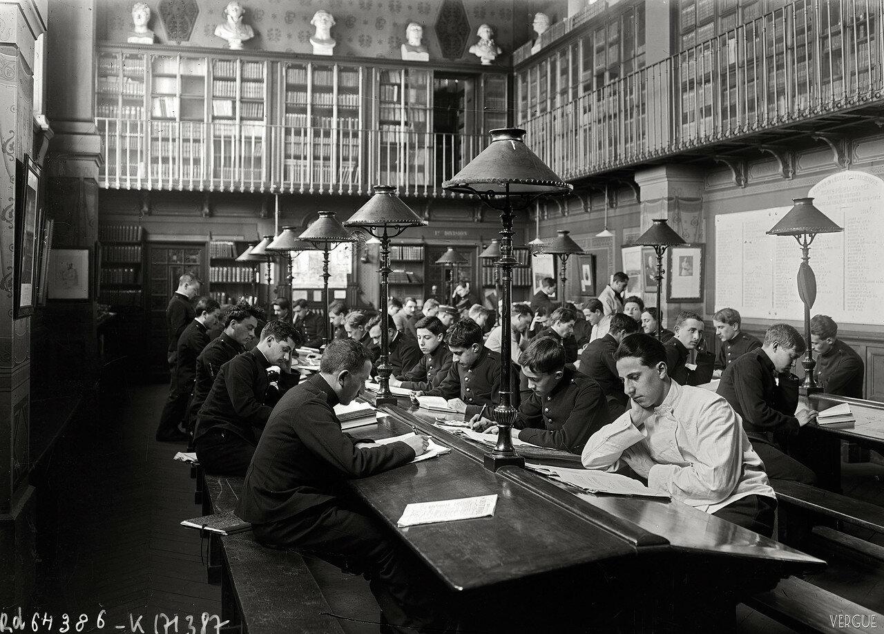 1921. Библиотека Политехнической школы