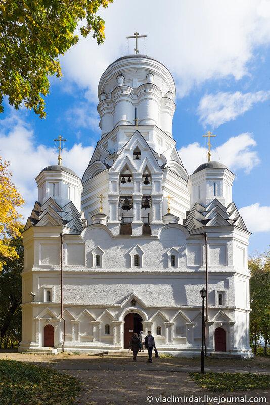 Церковь  Усекновения главы Иоанна Предтечи в Коломенском