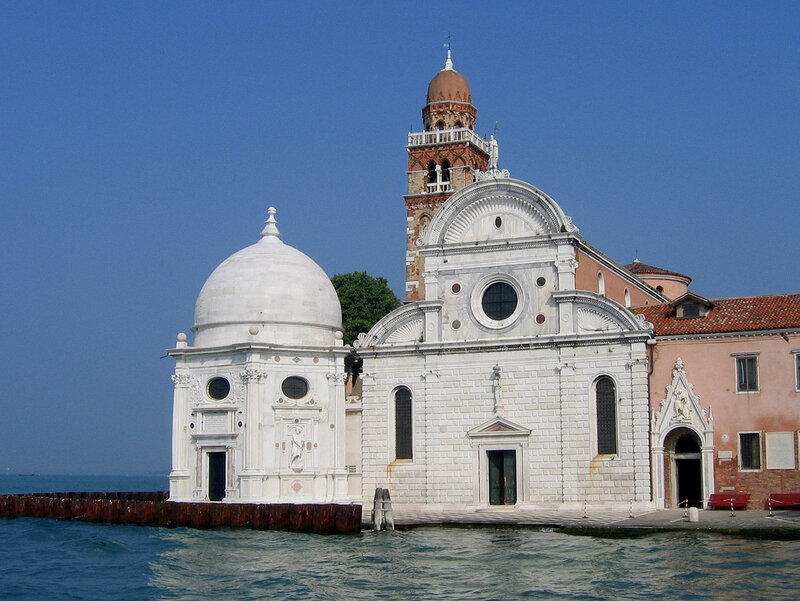 Церковь на острове мертвых.