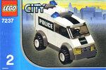 LEGO 7237 - Полицейский автомобиль.