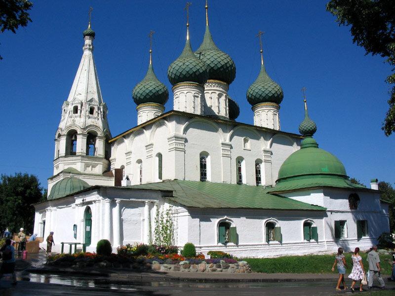 Ярославль, церковь Спаса на Городу, 1672 год.