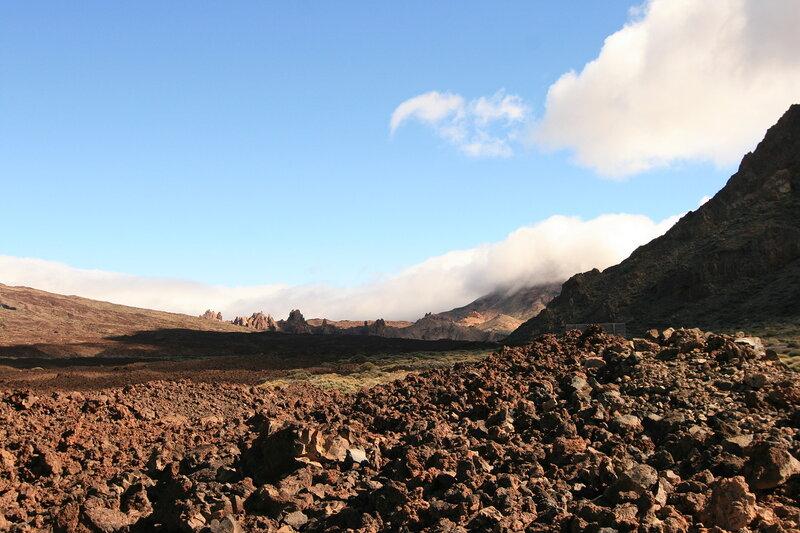 Тенерифе, вулкан Тейде - лавовые поля