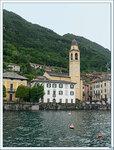 Церковь в Лальо, озеро Ларио, провинция Комо, Италия