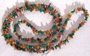 malachite,tourmaline,necklace,gift