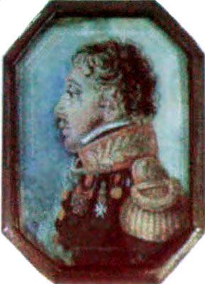 2. П.Э.Рокштуль. Портрет Н.З.Хитрово. Середина 1810-х годов.