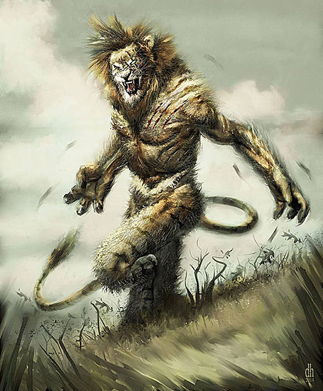 12 знаков Зодиака в образах чудовищных монстров (фото 5)