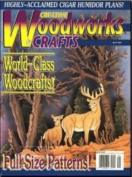 Журнал Creative Woodworks & Crafts №46 April 1997
