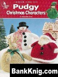 Книга Thread Crochet Pudgy Christmas Characters jpg 1,4Мб