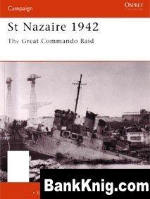 Книга Osprey Campaign №92. St.Nazaire 1942 pdf (scan) 34Мб