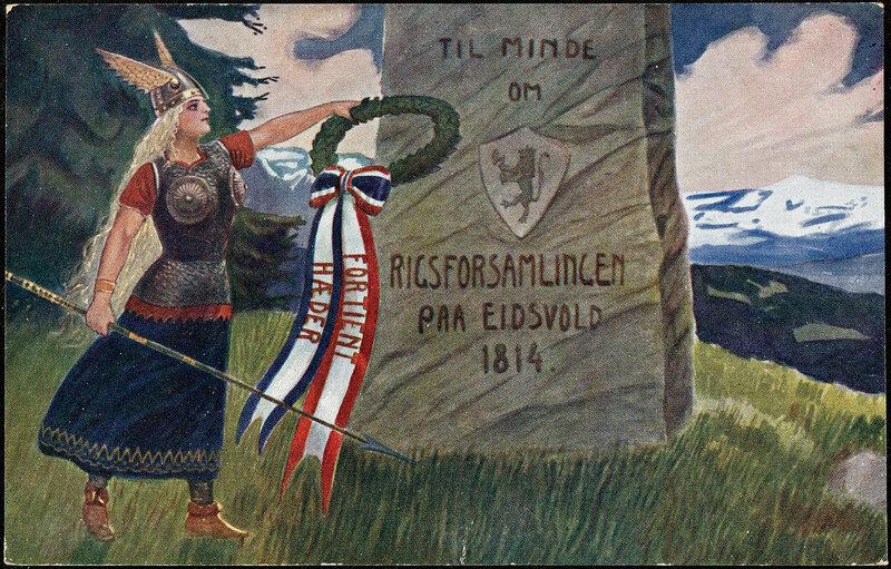 Til Minde om Rigsforsamlingen paa Eidsvold 1814, 1914.