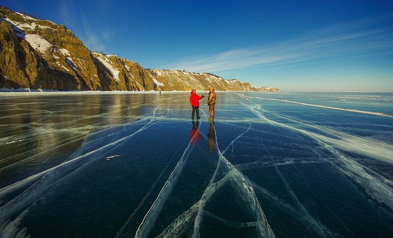Изумительный лёд Байкала