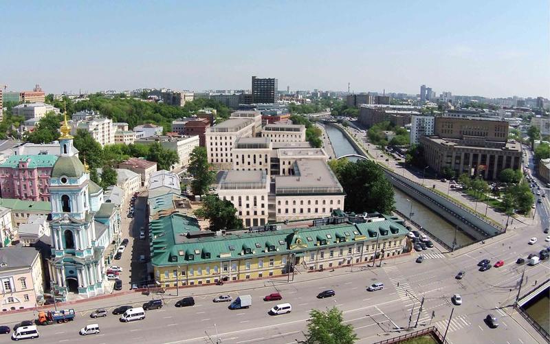 Проект жилого комплекса в Серебренниках в Москве