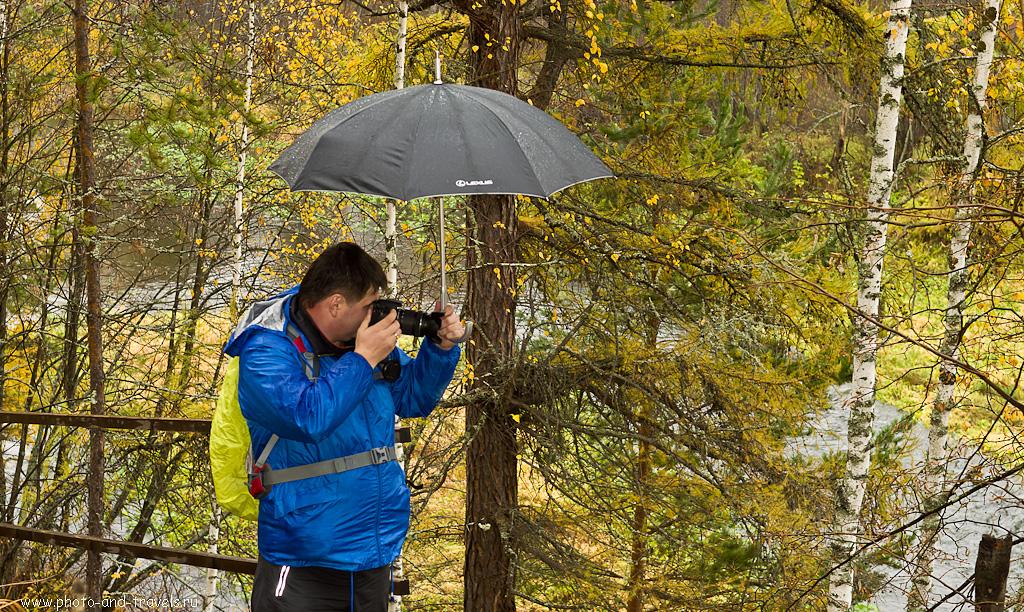 """12. Целый день шел дождь, не перестававший лить ни минуты. Поэтому на некоторых фотках """"выбито"""" небо. Отзыв о походе выходного дня в Оленьи ручьи"""