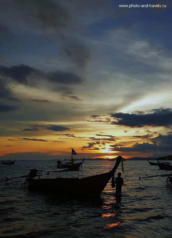 13. Мы с женой съездили в самостоятельные путешествия в несколько стран. Только в Тайланде вы встретите такие восхитительные закаты.