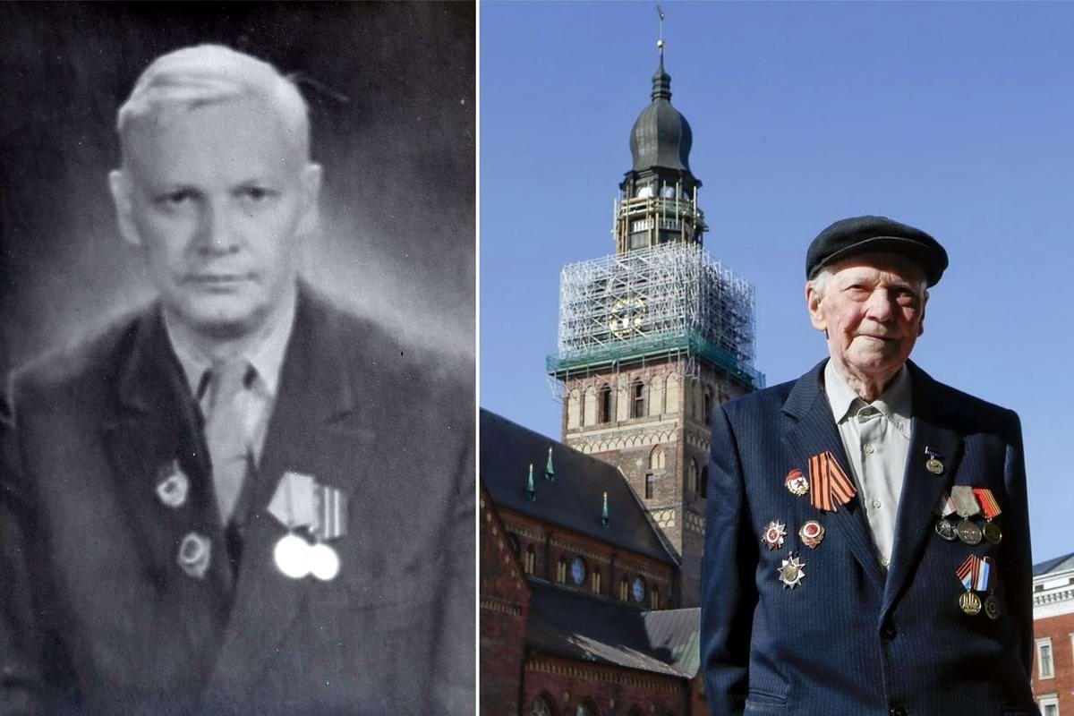 15 героев Великой Отечественной Войны из 15 республик Советского Союза - Фрицис Цеплис, уроженец Латвии, 98 лет
