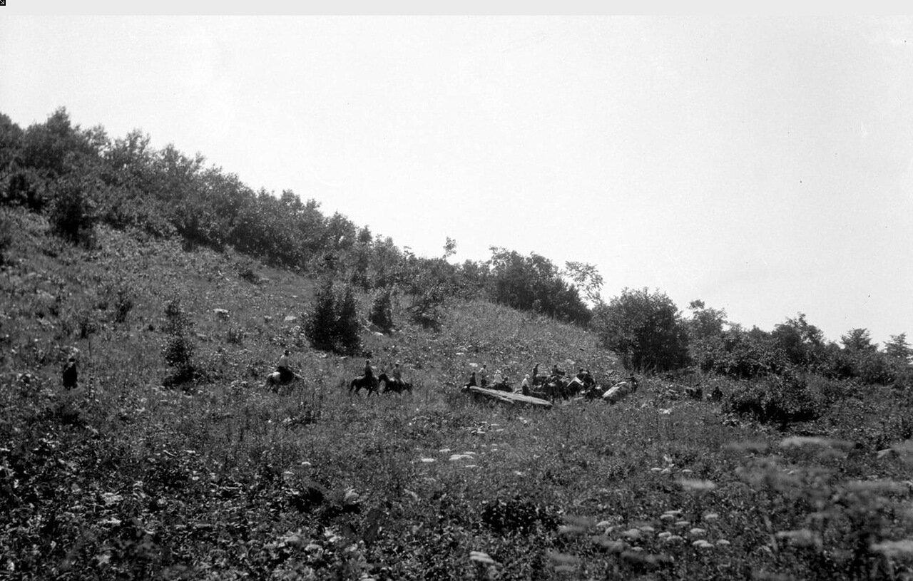 Всадники в долине Верхней Накры