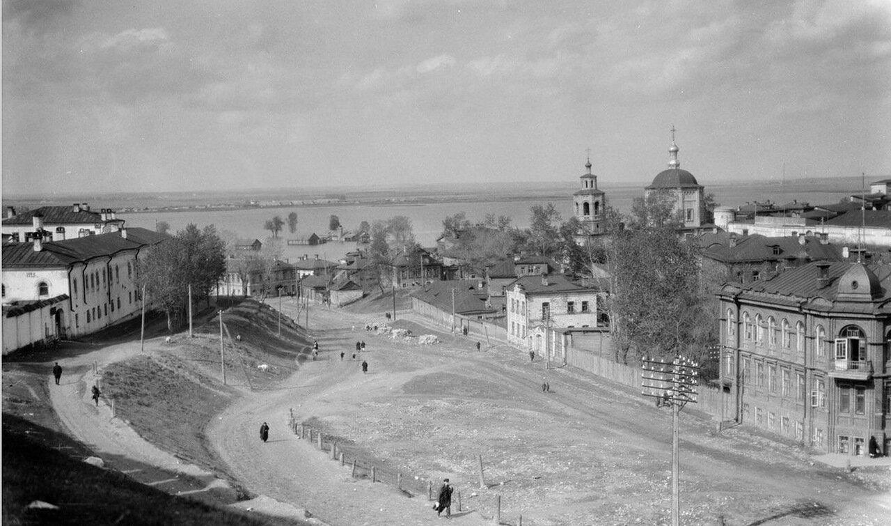 Казань. Вид на город и Волгу