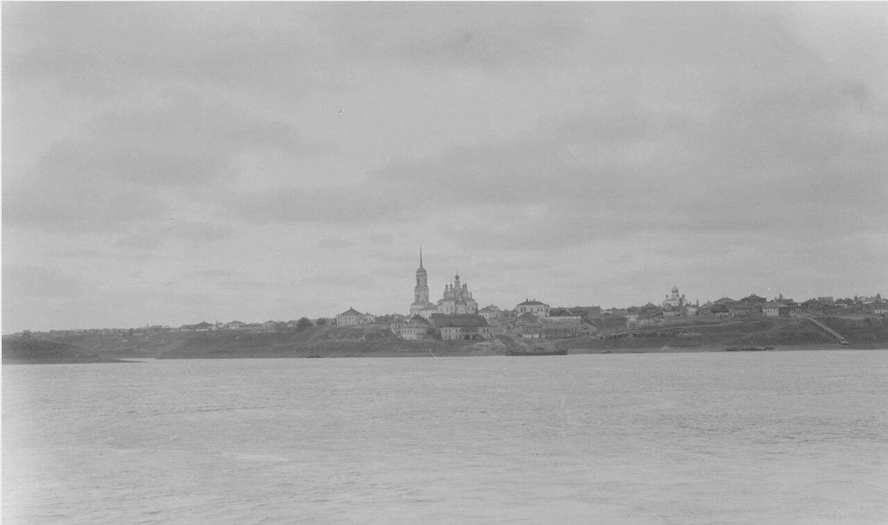 Саратов. Вид на город с Волги