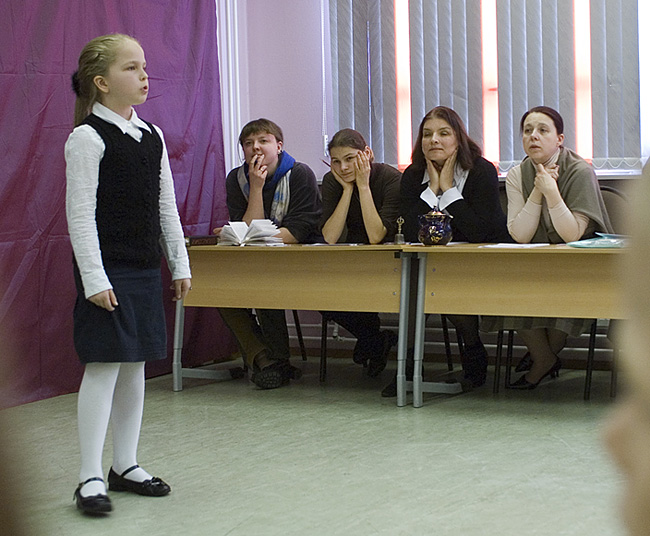 Конкурс чтецов, школа Муми-Тролль