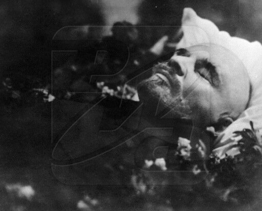 Ленин в гробу