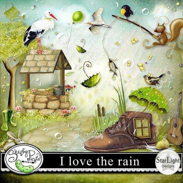 я люблю дождь