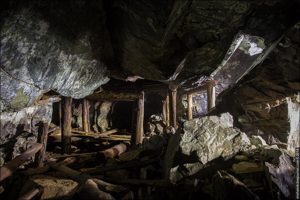 Платиновый рудник «Крутой лог»