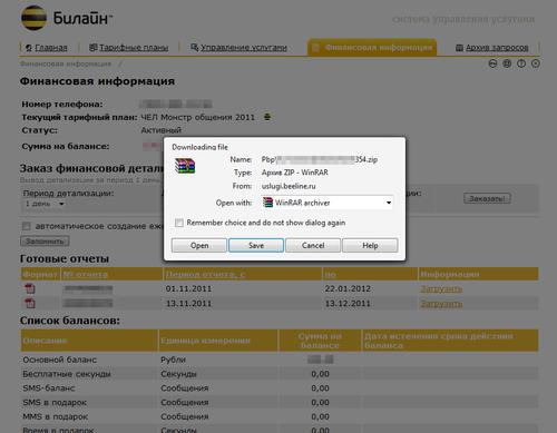 Beeline - Финансовая информация_3