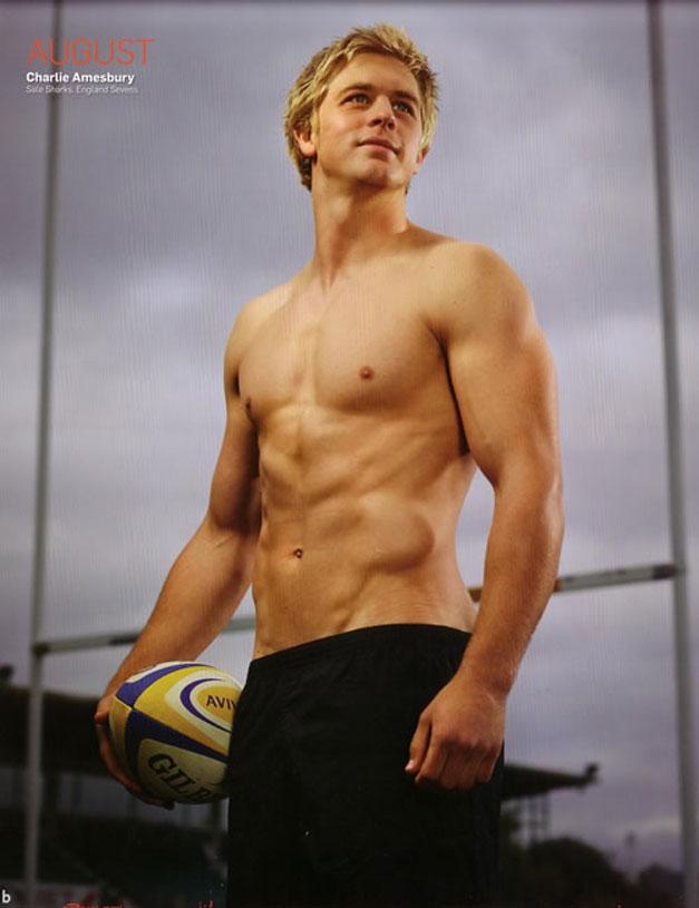 Календарь английских регбистов / Rugby-s Finest 2012 calendar - Charlie Amesbury
