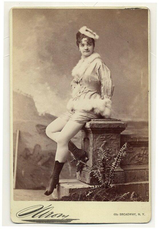 1890. Elvira Viola, sitting