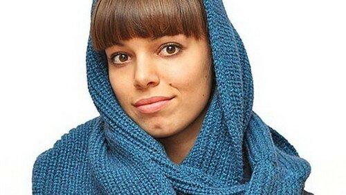 Как связать спицами зимний шарф – снуд
